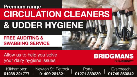 Bridgmans Dairy Circulation & Udder Hygiene