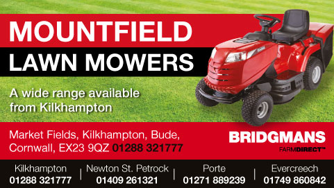 Bridgmans Mountfield Lawn Mowers
